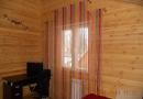Веревочные шторы с люрексом